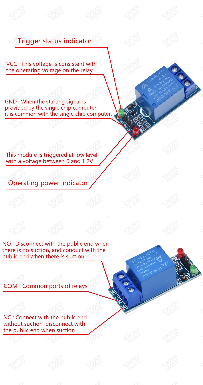 2-Kanal Relaismodul Optokoppler Erweiterungskarte Single-Chip-Steuerung Neu