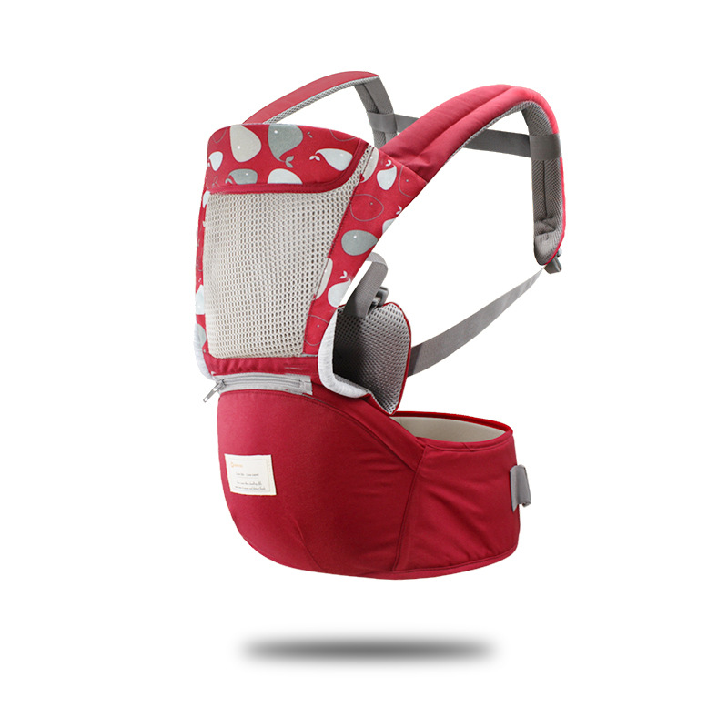 c95ad0fa282 Kangaroo Baby Carrier Baby Sling Wrap Back Front Carry Hip Seat  Multifunctional Straps Portable Prevent Ergonomic ...