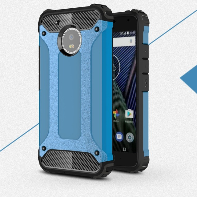YiKELO 2 in 1 Hybrid PC soft Silicone Combo Armor full cover Case for Motorola Moto G3 G4 plus play E3 M Z Force G5 capa Coqua