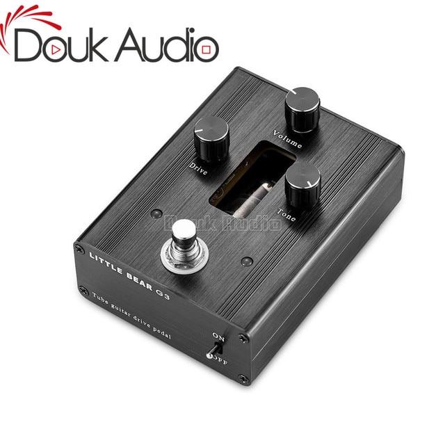 Little bear G3 6N4 J Vacuum Tube Guitar Bass Overdrive DRIVE Gain Pedal Stomp Effector Amplifier