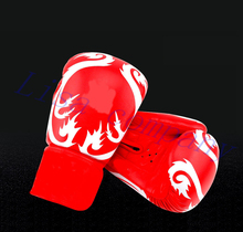 a pair of adult boxing free combat sandbag gloves Muay Thai training professional fighting protection