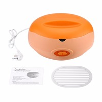 1Pcs Hand Paraffin Heater Paraffin Therapy Bath Wax Pot Warmer Beauty Salon Spa Wax Heater Equipment Keritherapy System Orange