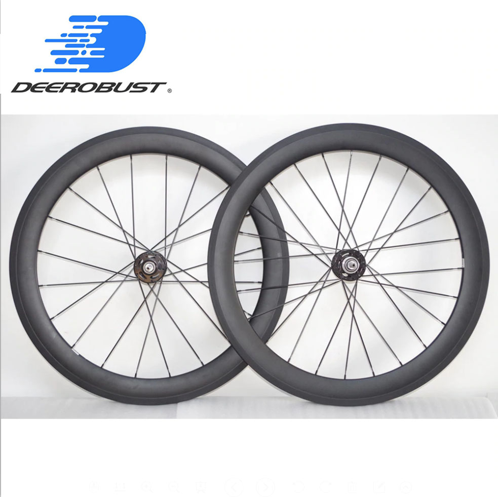 60mm tubular 700C carbon track bike wheel// T700 carbon novatec hub 23mm width