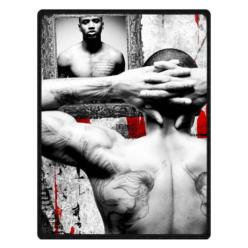 Personalized Trey Songz Throw Blanket Custom Coral Flannel Blanket Sofa Couch Bed Plane Travel TV Blankets