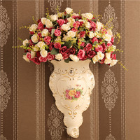 Europejski styl dekoracji porcelany dekoracji ściany ścienne fototapety ścienne Wyposażenie Domu miękkie strój Kwiat Wisiorek