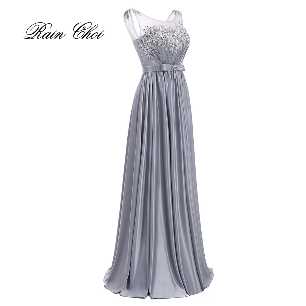 On Sale 2019 Sexy Floor Length Elegant Long Prom Gown Long Vintage Formal Evening Dresses