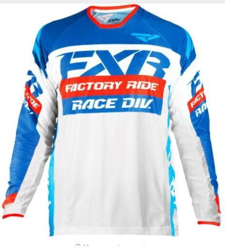 Cycling Cycling Clothings Amiable 2019 Fxr Mtb Motocross Jersey Mx Bmx Off-road Motorcycle Racing Long Sleeve T-shirt For Yamaha Moto Gp Racing Wear Black Jersey