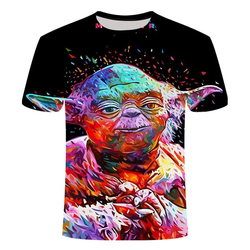 New Fashion Starwars Tshirt Men Women T-shirt 3D Print Star Wars Movie Tee Shirts Casual T Shirt Summer Tops Brand Clothing