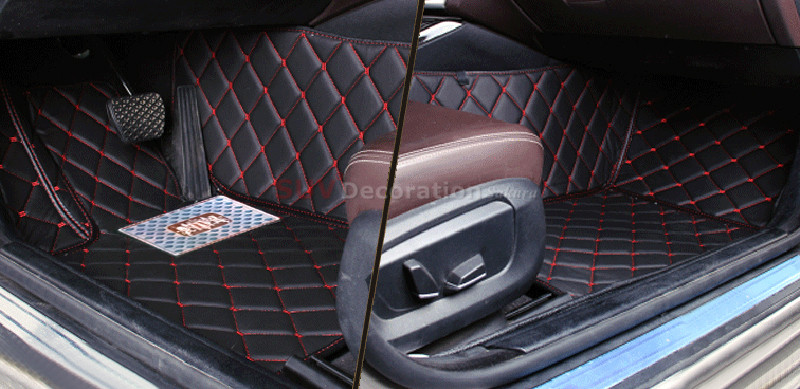 For BMW 5 Series F10 2014 2015 2016  Accessories Interior Leather Carpets Cover Car Foot Mat Floor Pad 1set 10 16 for land rover discovery 4 l319 2010 2016 accessories interior leather carpets cover car foot mat floor pad 1set