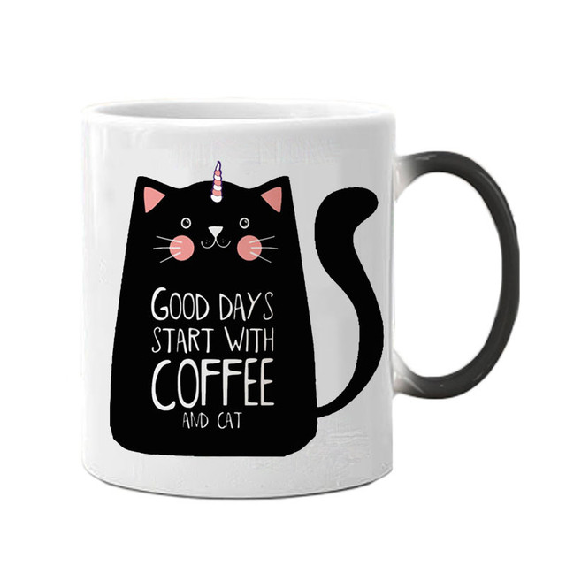 Unicorn Cat Mugs 300ml