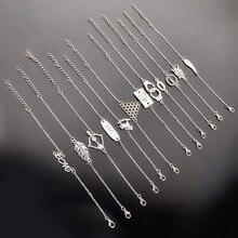 1 шт. модный круглый подвесной Амулет браслет с животными пара браслетов Ювелирные изделия дружба подарки ns210