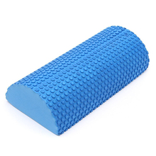 30/45/60cm Half Round EVA Foam Roller Foam Roll Yoga Pilates Fitness Gym Fitness Exercise Roller With Massage Floating Point