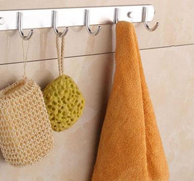 Accessori bagno robe ganci porta in alluminio appendiabiti appesi ...