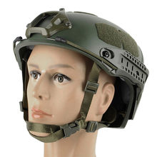 WoSporT Adjustable Tactical Helmet Airsoft Gear Face Mask Helmet Paintball Head Protective For CS Paintball Game Camping(China)