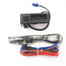 FHAWKEYEQ автомобиль RGB обращая заднего вида Камера + кабель для VW Jetta MK6 Passat B7 Tiguan RCD510 RNS510 RNS315 RNS310 56D 827 566