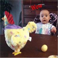 Funny Chicken Toy Trick Hen Droppin Eggs Shocker Joke Gift For Children Antistress Gadget Interactive Games