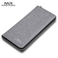 2017 New Arrivals High Capacity Wallet Teenagers Zipper Wallet Card Holder Casual Style Purse