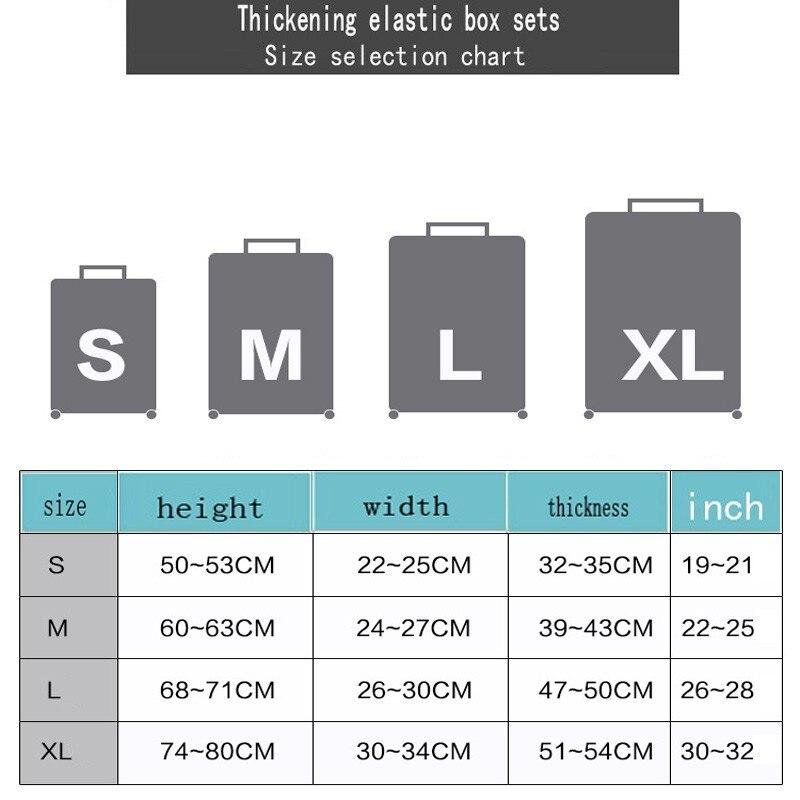 safebet марка эластичный чемодан защитная крышка для 19-32 дюймов тележка чемодан защиты мешка для сбора пыли дело ребенок мультфильм путешествия крышка
