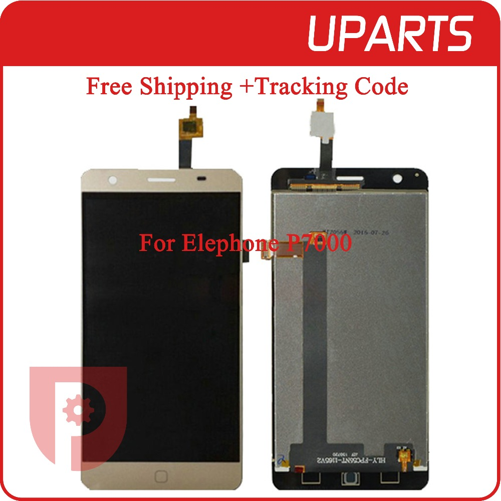 A++For Elephone P7000 LCD Display + Touch Screen Assembly LCD Digitizer Glass Panel Replacement For Elephone P7000 Free Shipping