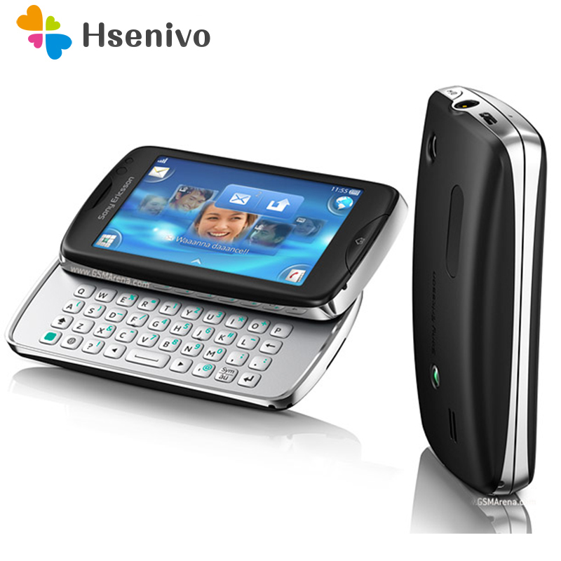 CK15 100% Original Unlocked Sony Ericsson Ck15i Mobile Phone 3.0' 3G WIFI Bluetooth FM Radio Unlocked Cell Phone Free Shipping