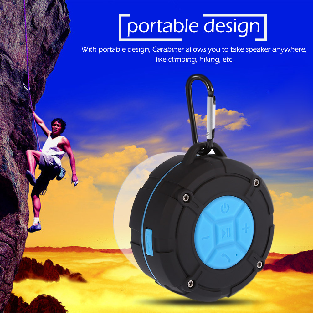 C618-Blutooth-Outdoor-Mini-Wireless-Portable-Waterproof-Bluetooth-Speaker-Suction-Cup-Hands-free-with-Mic-for