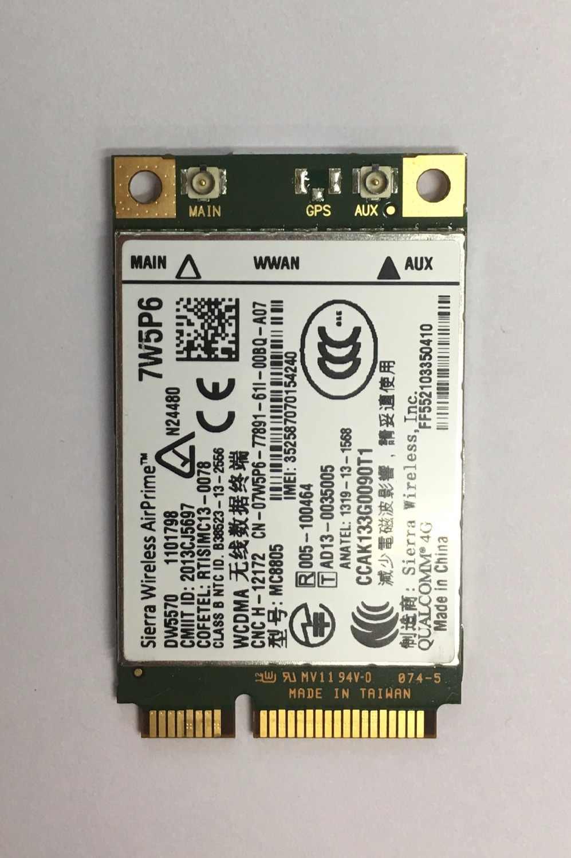 DW5570 7W5P6 Sierra MC8805 HSPA+ WWAN Broadband Mobile WWAN Network Card 3G  for DELL E5440 E6440 E6540 E7240 E7440 M4800 M6800