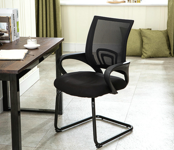 New arrival home office computer chair ergonomic lift chair fashion lacework staff meeting chair computer chair home office chair mobile no handrail small lift swivel chair mesh staff chair