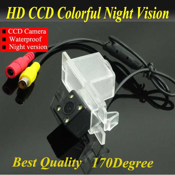 جودة عالية hd ccd كاميرا الرؤية الخلفية لل سانج يونج كيرون ريكستون مع 170 درجة عدسة زاوية nightvision للماء