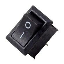 10pcs/set Boat Rocker Switch 15*21mm 2PIN ON/OFF/ON 6-10A 110V 250V Car Dash Dashboard Truck RV ATV Home