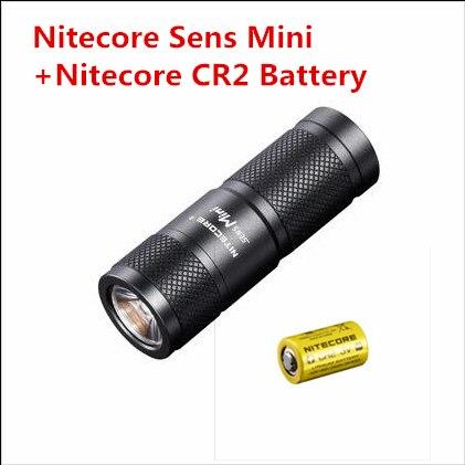 Nitecore Sens Mini ADT mini Flashlight CREE XP-G R5 LED 3 Mode Flashlight 170 lumen Mini Torch Nitecore sens 1 3 2008 г