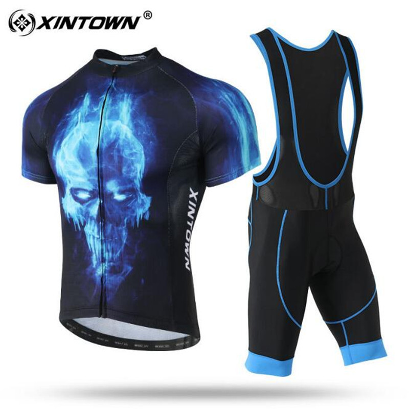 XINTOWN 2018 Pro Team Cycling Clothing Men Ropa Ciclismo Summer Bike Jersey Set Quick Dry Short