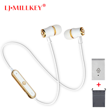 Bluetooth earphone Stereo Waterproof BT 4.2 Music Mic Remote Control Bluetooth Headset TZ001