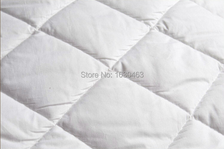 buy size 160x200cm cotton hotel mattress pad quilt waterproof mattress pad cover protection for bed bug king size from reliable quilt star