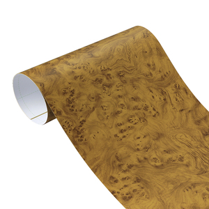 Image 3 - Pegatinas texturizadas para decoración de Interior de coche, de madera de PVC, 30x100CM, accesorios de película de vinilo para muebles, puertas y automóviles, impermeables