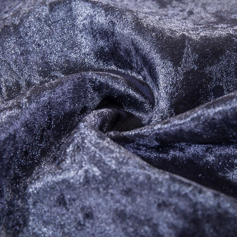 Жоғары сапалы сәнді қалың барқыт мата - Үй тоқыма - фото 4