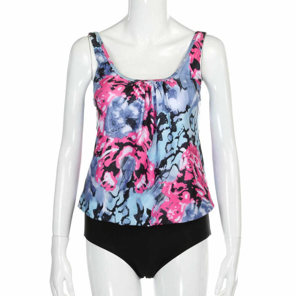 Vrouwen Bikini Dames Push Up Badmode Print Sexy Thong Pak Beach Party Biquinis Feminino 2019 Zon Bescherming Plus Size 19Feb1