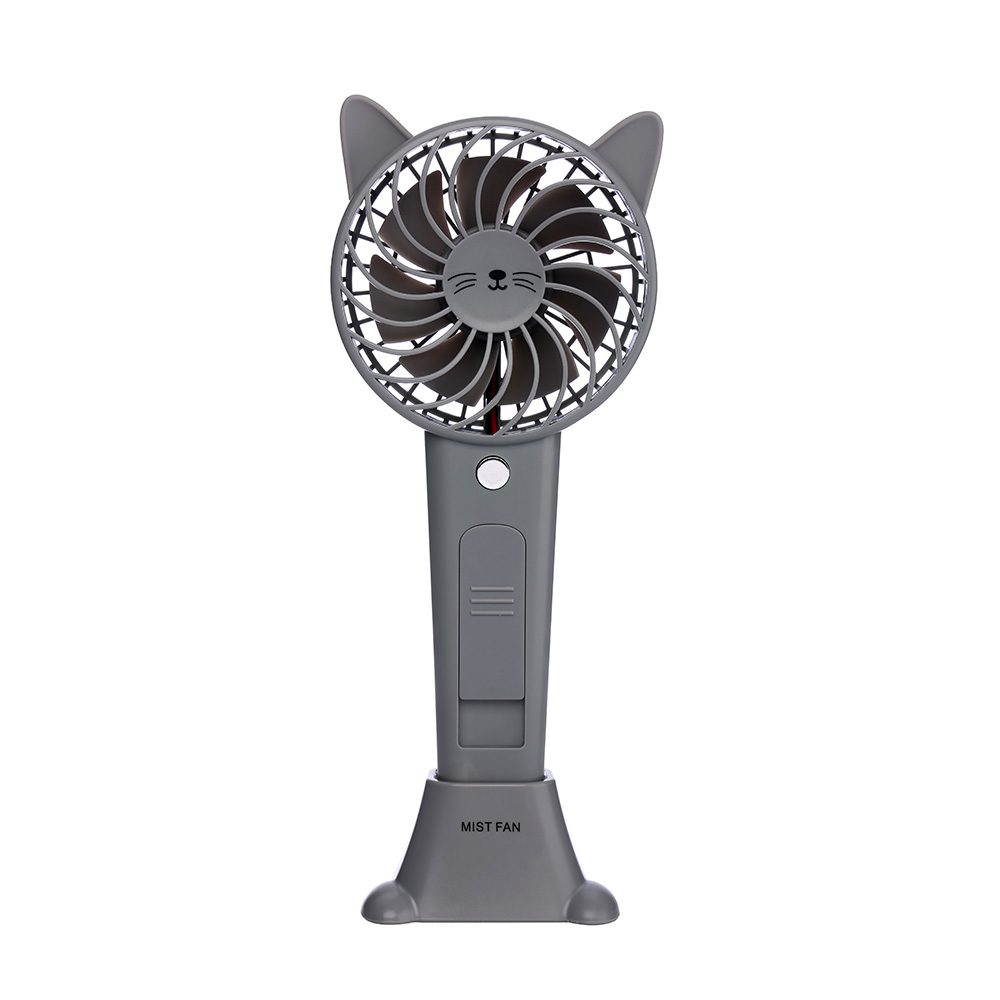 Summer Humidifier Fan Water Mist Adorable Rabbit Bear Style Mini Handheld Fan Lithium Battery Rechargeable Portable USB Fan Mini дизайнерские часы skagen мужские часы skw6284