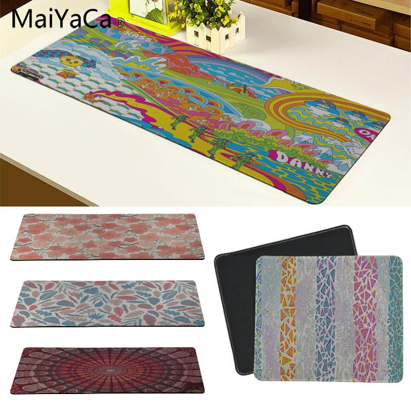 MaiYaCa Beautiful Anime Fashion BOHO Customized laptop Gaming mouse pad Size for 180*220 200*250 250*290 300*600 and 300*900*2mm