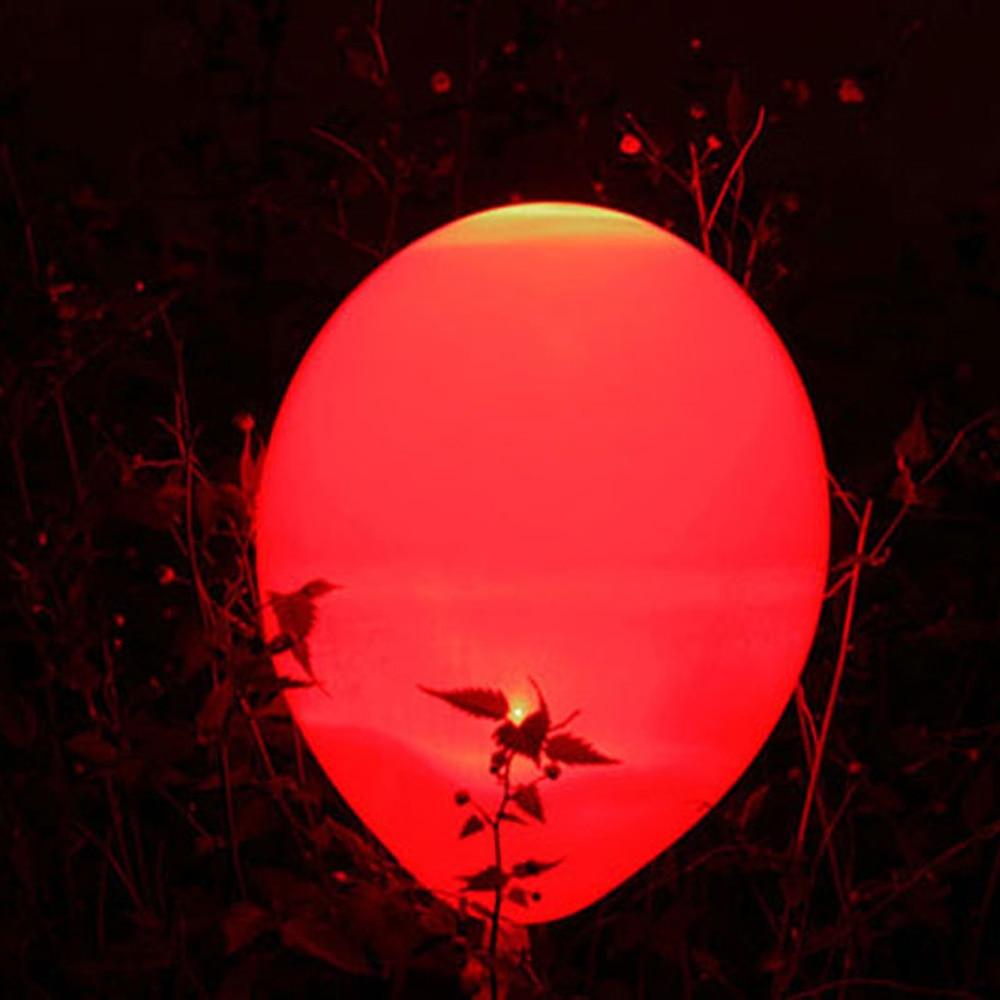 Купить с кэшбэком 30pcs/lot Waterproof Warm White Submersible LED Balloon Light Party light for paper lanterns LED mini light bulb for party Decor