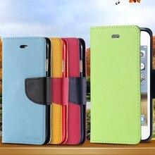 Новый! Роскошный PU кожаный бумажник чехол для iphone 5 5S SE 5 г / 4 4S раскладной телефон чехол подставкой бумажник держателя карты для Iphone5 чехол