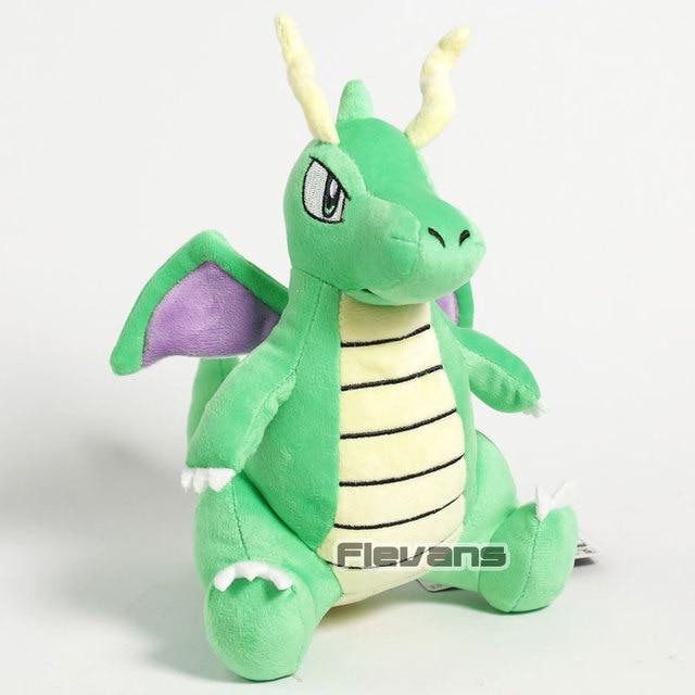 Anime Monstro Dragonite Plush Toy Dragão Animal Macio Stuffed Boneca