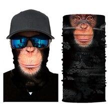 3D Animal Ski Cycling Snowboard Scarf Neck Warmer Face Mask Balaclava Bandana Bike Free Shipping