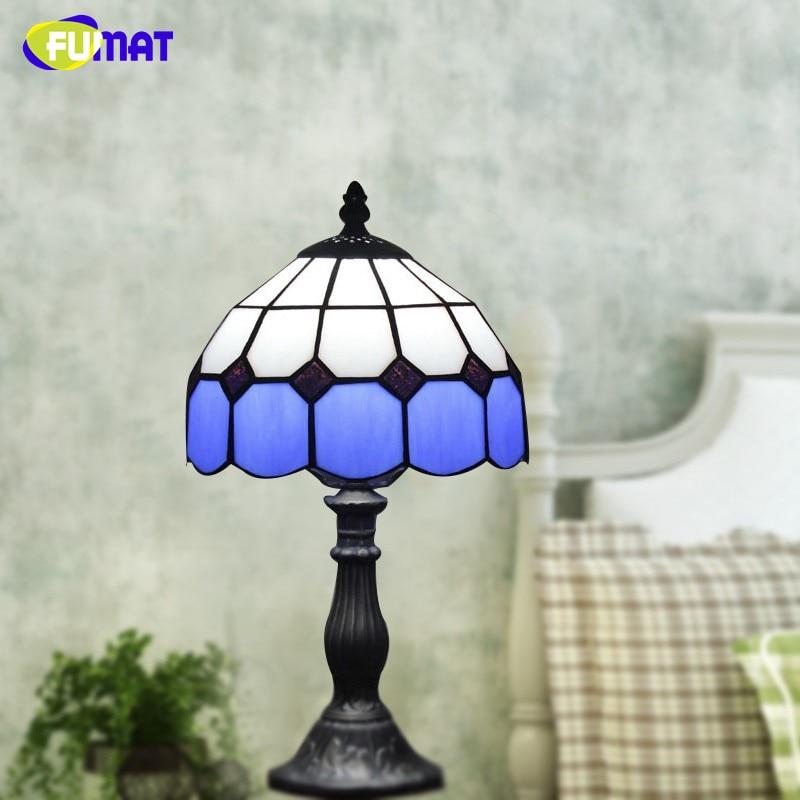 Vitrail Lampe Style De Fumat Baroque Table Pour En Salon Verre 0wmN8nv