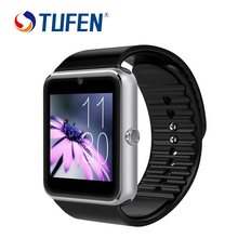 Smart Watch GT08 Clock With Sim Card Slot Push Message Bluetooth Connectivity Android Phone Better Than DZ09 GV18 M26 Smartwatch
