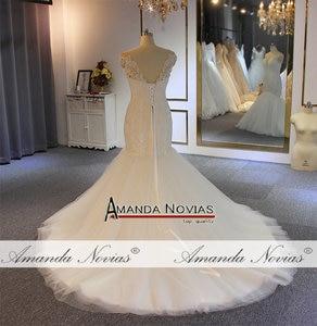Image 5 - Vestido de novia de sirena con cuentas