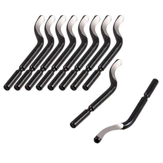Część naprawcza nych kantów narzędzie BS1010 S10 usuwania zadziorów i stępiania ostrych krawędzi ostrza 10 sztuk