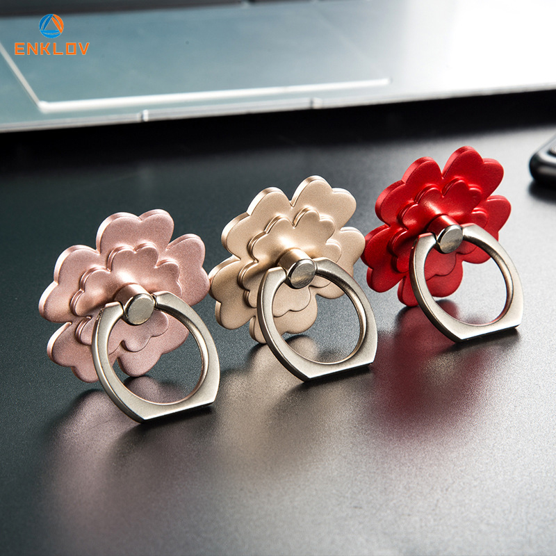 For IPhone X Phone Ring Support Smartphone Anti Throw Back Phone Grip Mobile Phone Holder Phone Stand 360 Rotatable Ring Holder