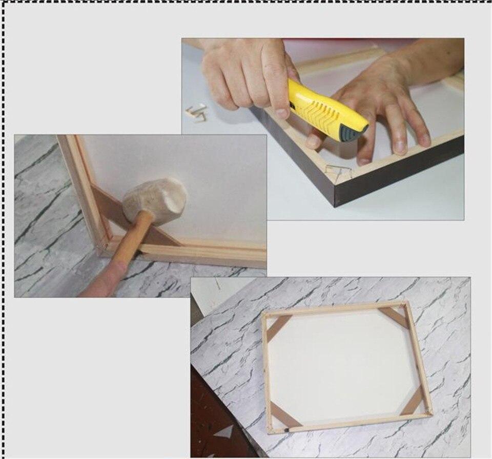 Wooden Inner Frame Diy Assemble Wood Framewrok Photo Frames for ...