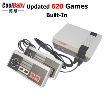 NEW Arrival Mini TV Handheld Game Console Video Game Console For Nes Games with 620 Different Built-in Games PAL&NTSC