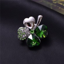 Crystal Four Leaf Clover